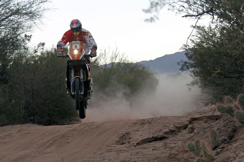 Kurt Caselli (KTM), ganador del Desafío Ruta 40 2013