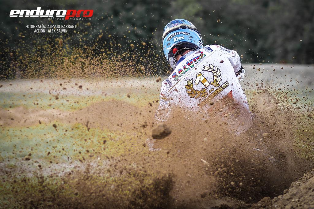 Alex Salvini, campeón del mundo de Enduro E2 2013