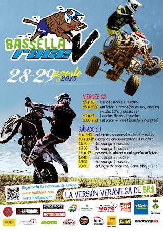 Cartel de la Basella Race de verano