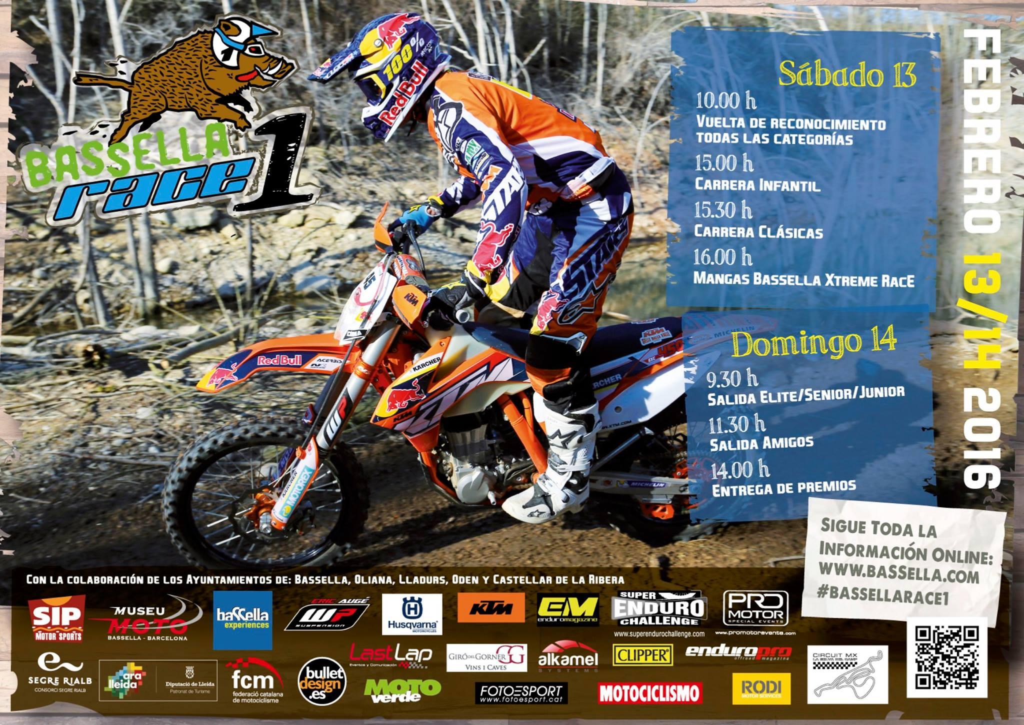 Bassella Race 1 2016