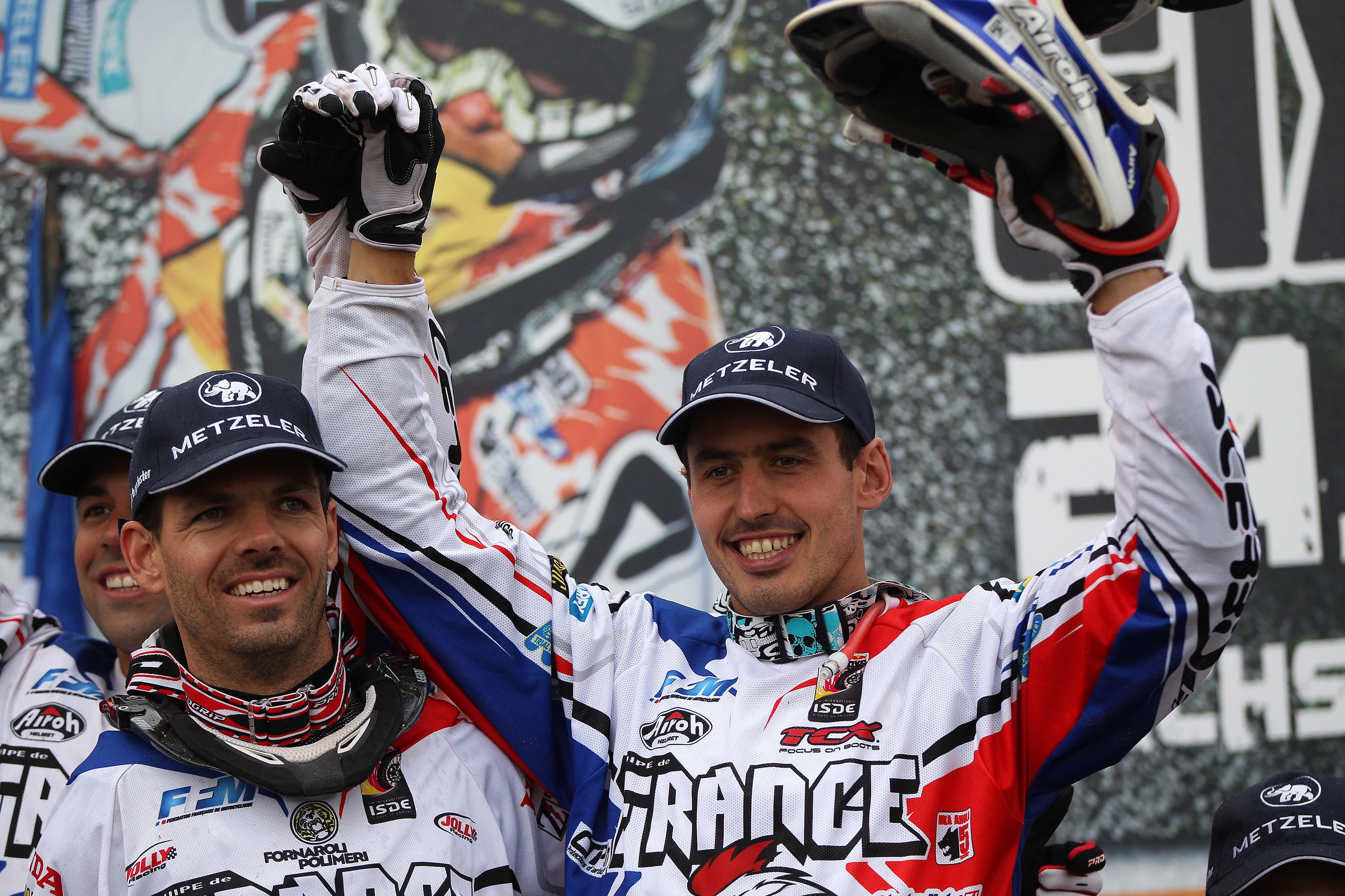 El equipo francés intentará revalidar su título.