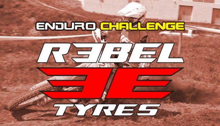 Chellenge Rebel tires durante el Campeonato de España de enduro