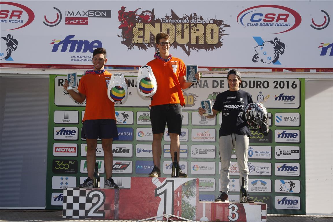 Enric Francisco campeón de España de Enduro Junior Open