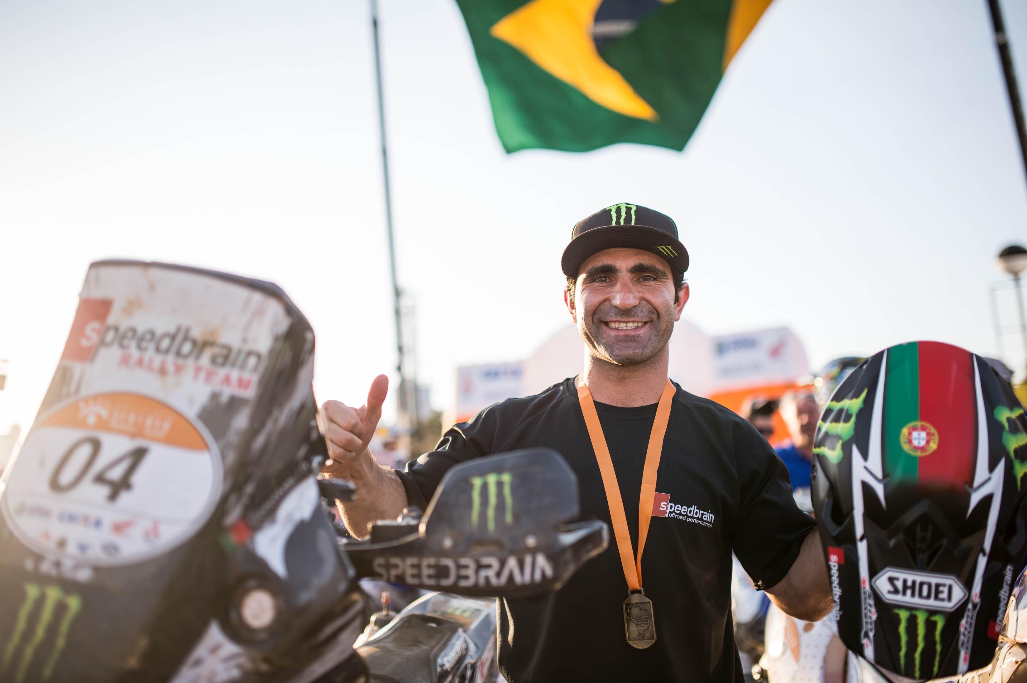 Grandiosa victoria para Paulo Gonçalves en Brasil