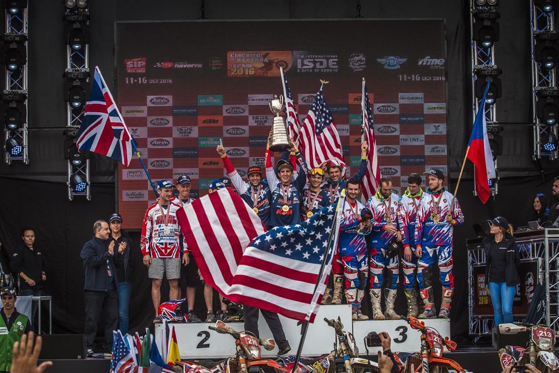 USA Team, victoria en Trofeo