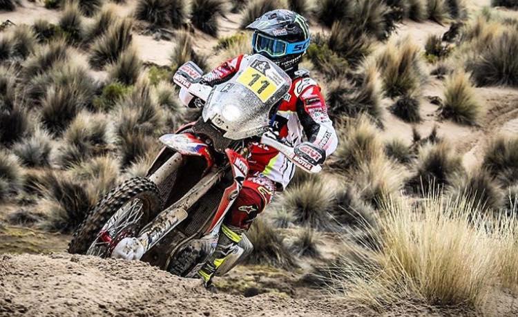 Joan Barreda (Honda) gana la octava etapa Rally Dakar 2017