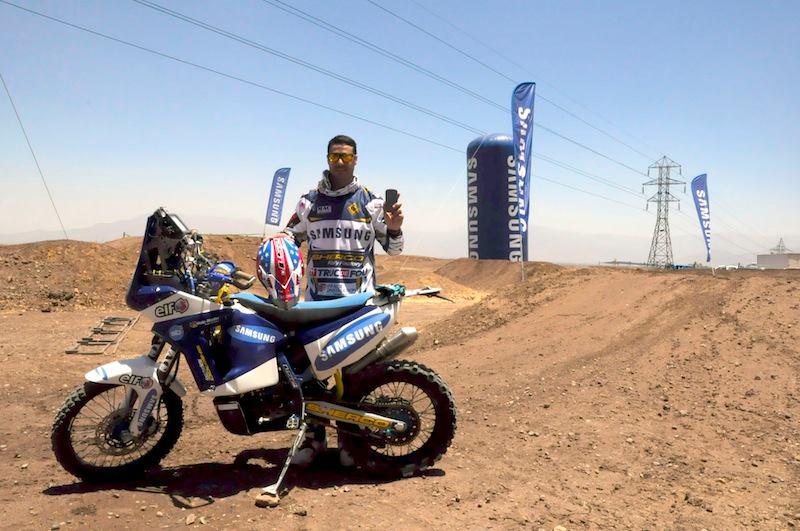 Joan Pedrero (Sherco) en el Dakar 2014