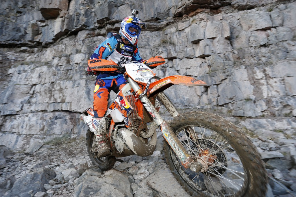 Jonny Walker (KTM) gana la Tough One 2015