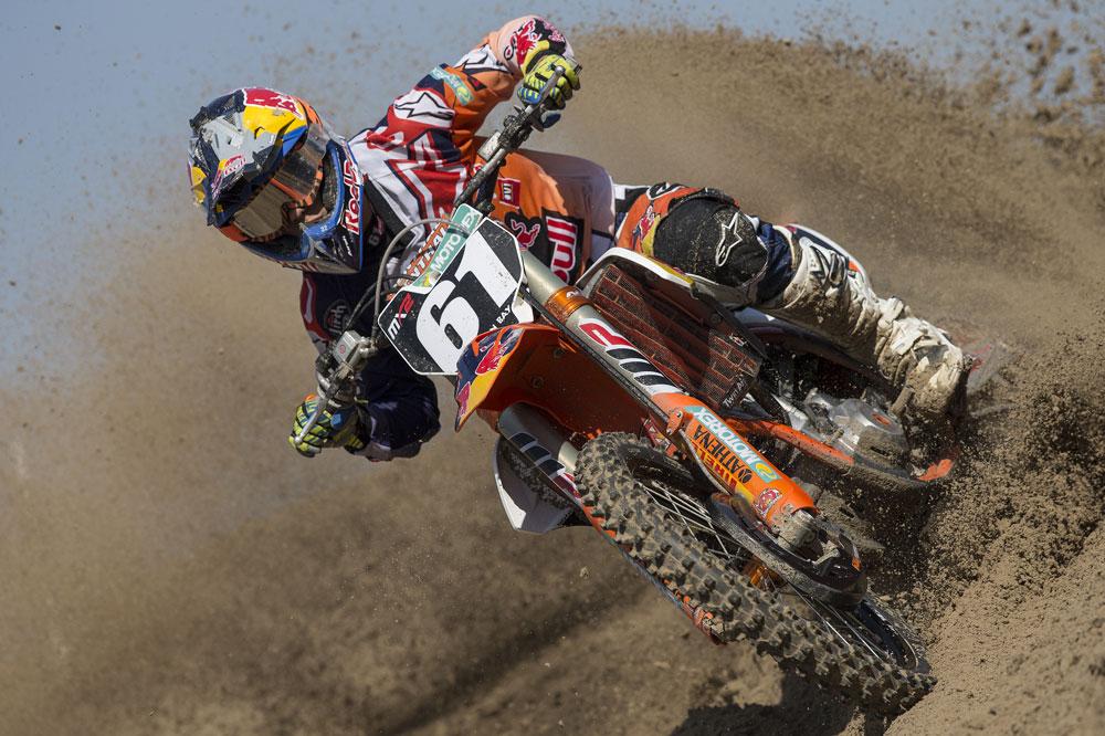 Jorge Prado debutó con podio en el Campeonato del Mundo de Motocross MX2