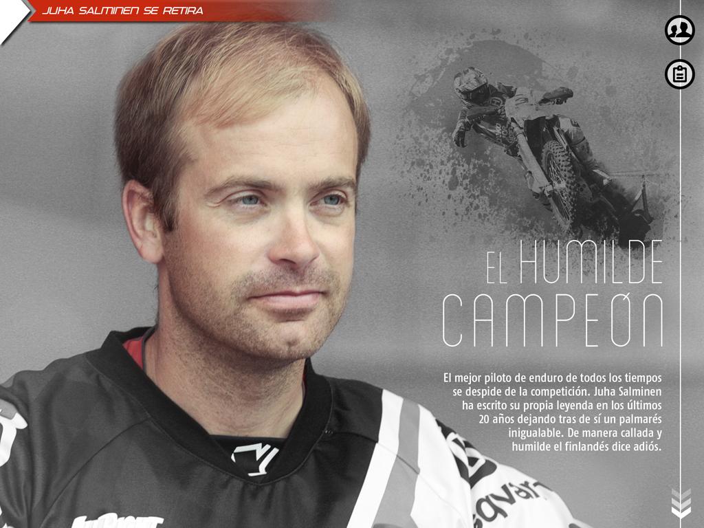 Juha Salminen, el mejor piloto de enduro de la historia