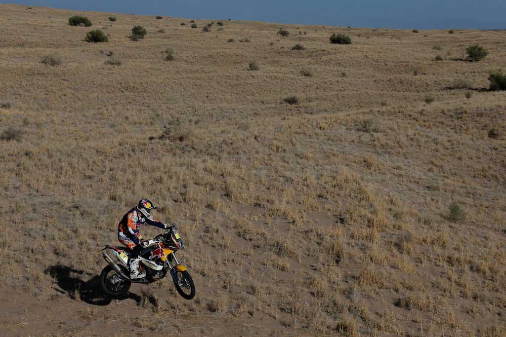 Marc Coma (KTM) en el Dakar 2014