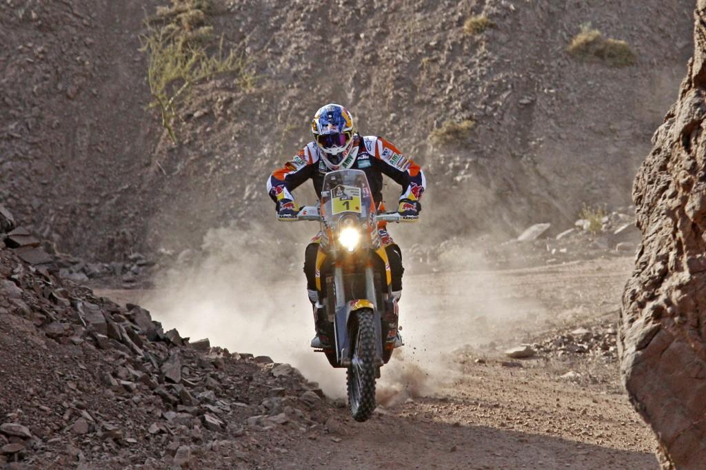 Marc Coma en el Dakar 2015.