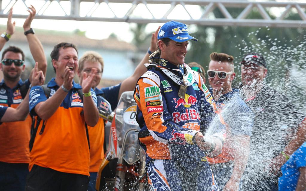 Marc Coma (KTM) gana el Rally dos Sertoes 2014