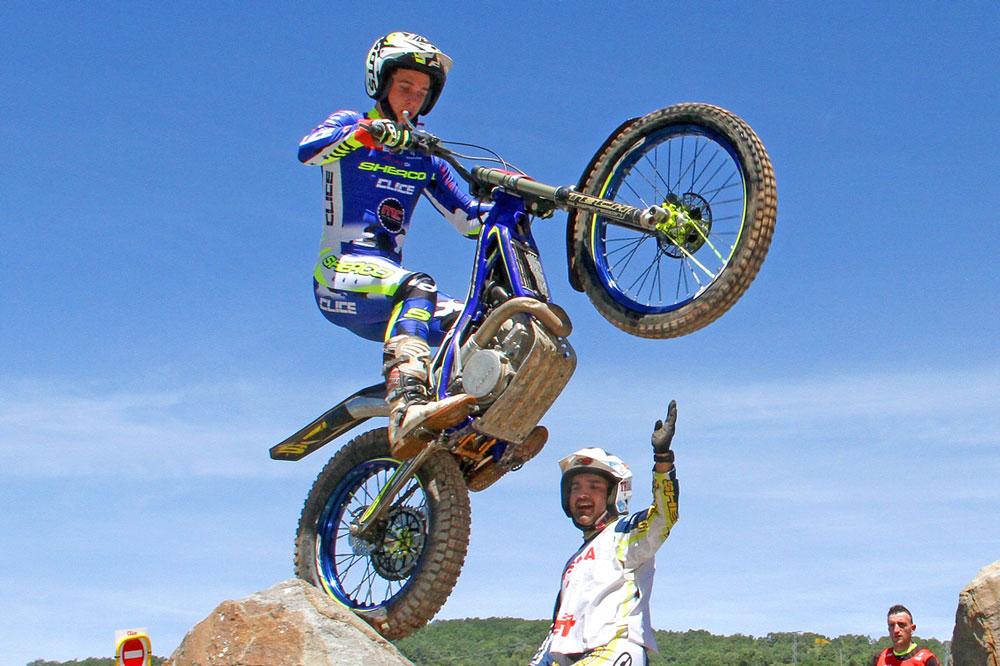 Miquel Gelabert, Campeón de Europa de Trial