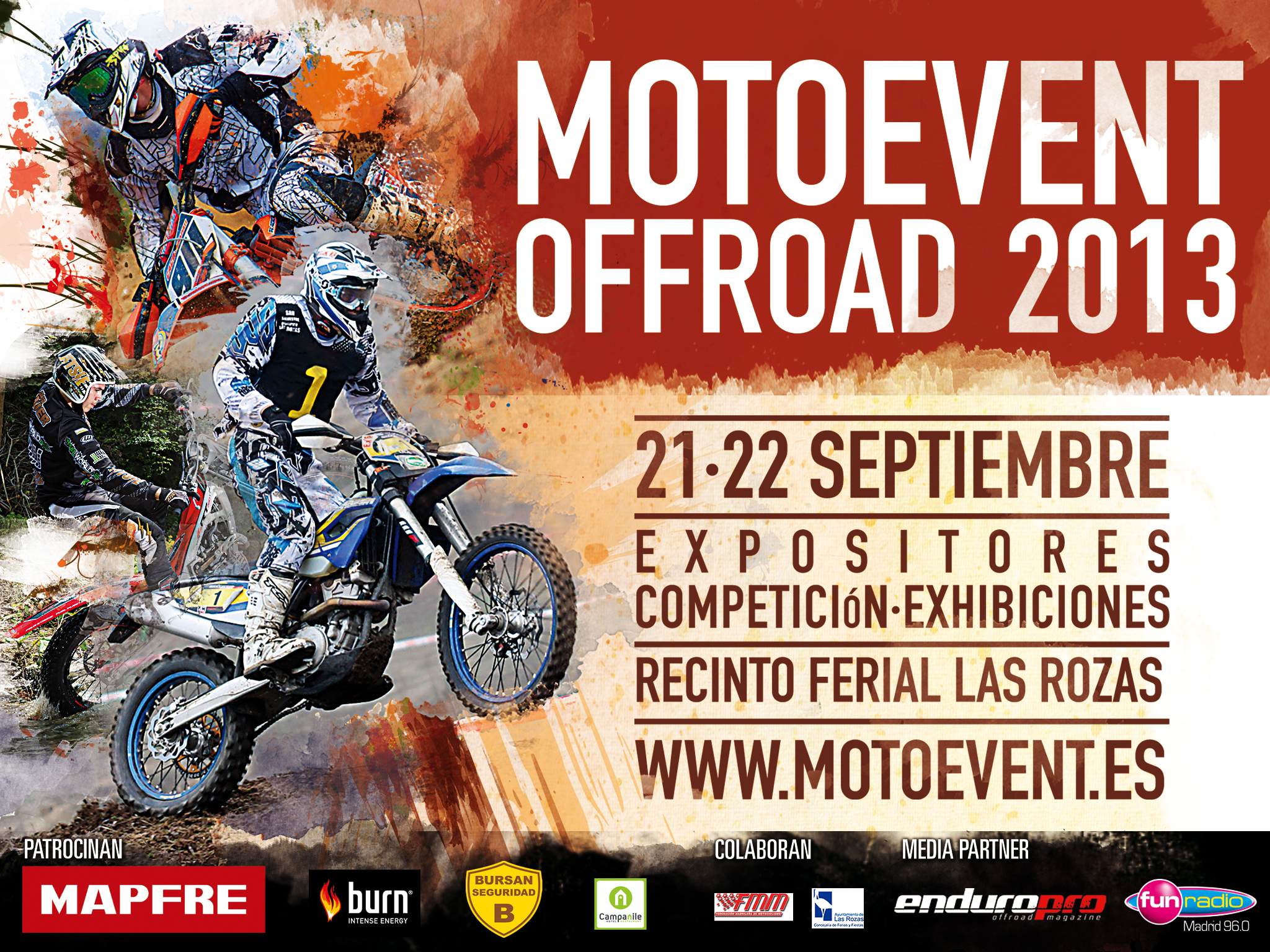 Cartel MotoEvent off road 2013
