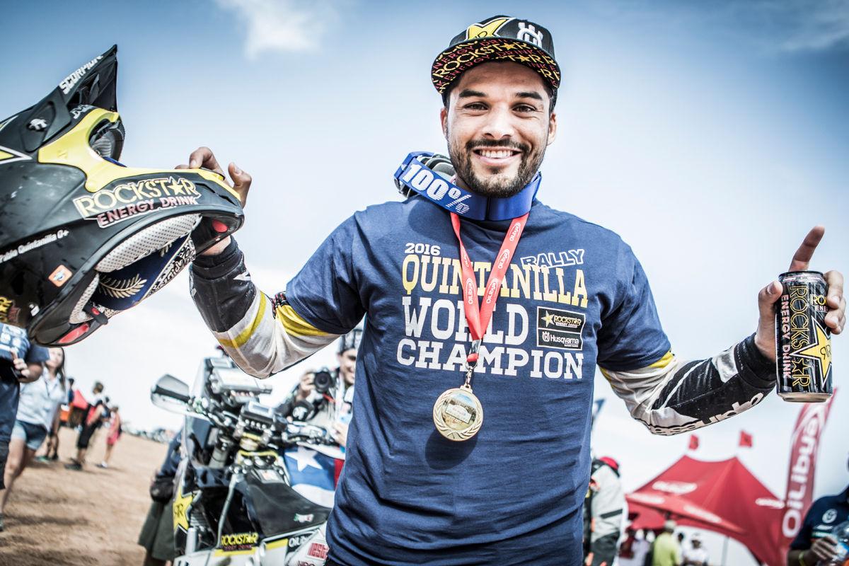 Pablo Quintanilla nuevo campeón del mundo de rallies 2016