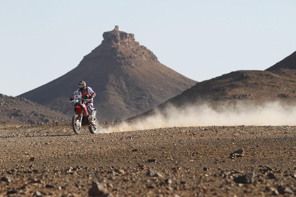 Paulo Gonçalves en el Rally de Marruecos