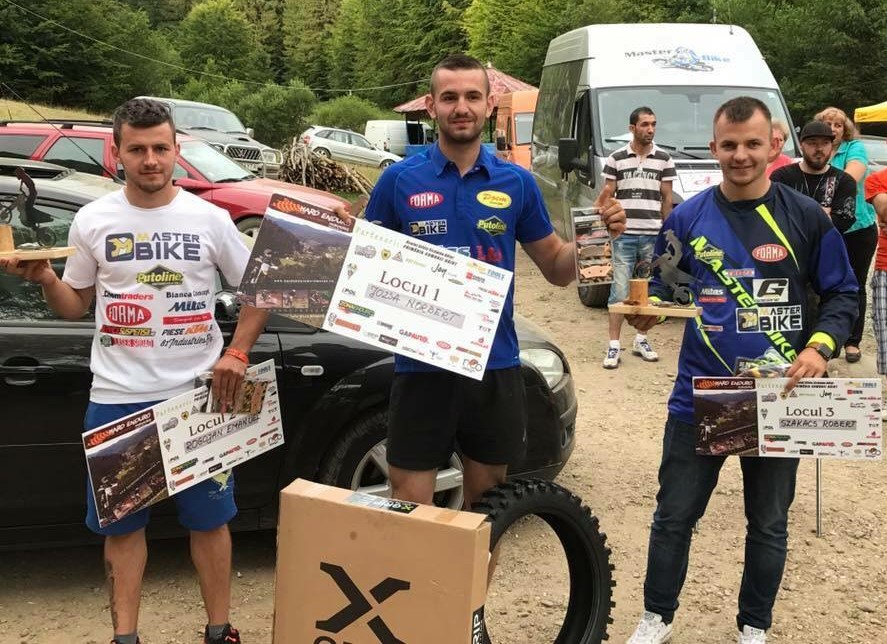 Podio final Hard Enduro Maramures