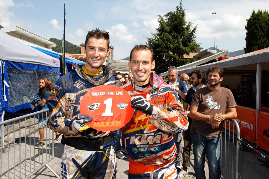 Pela Renet y Christophe Nambotin, campeones de enduro 2014