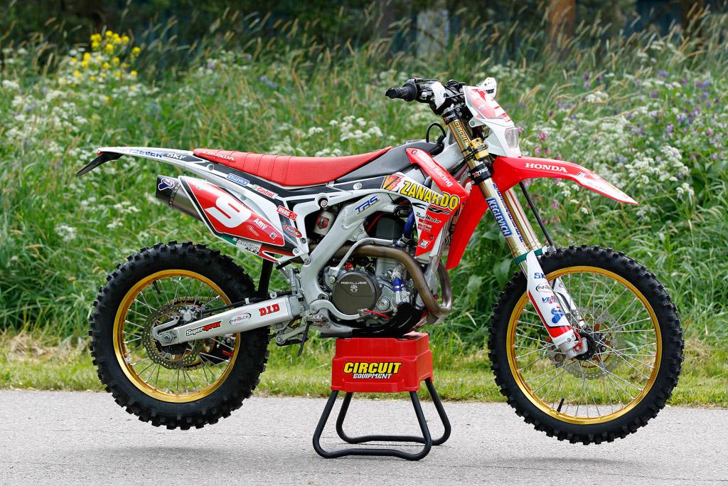Honda CRF450 Alex Salvini