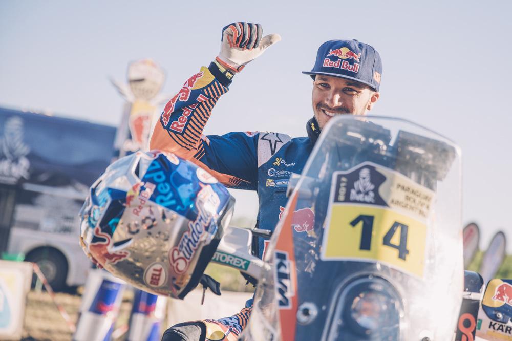 Victoria final de Sam Sunderland en el Dakar 2017