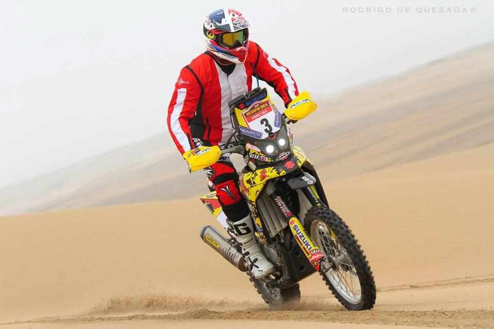 Suzuki Dakar 2015