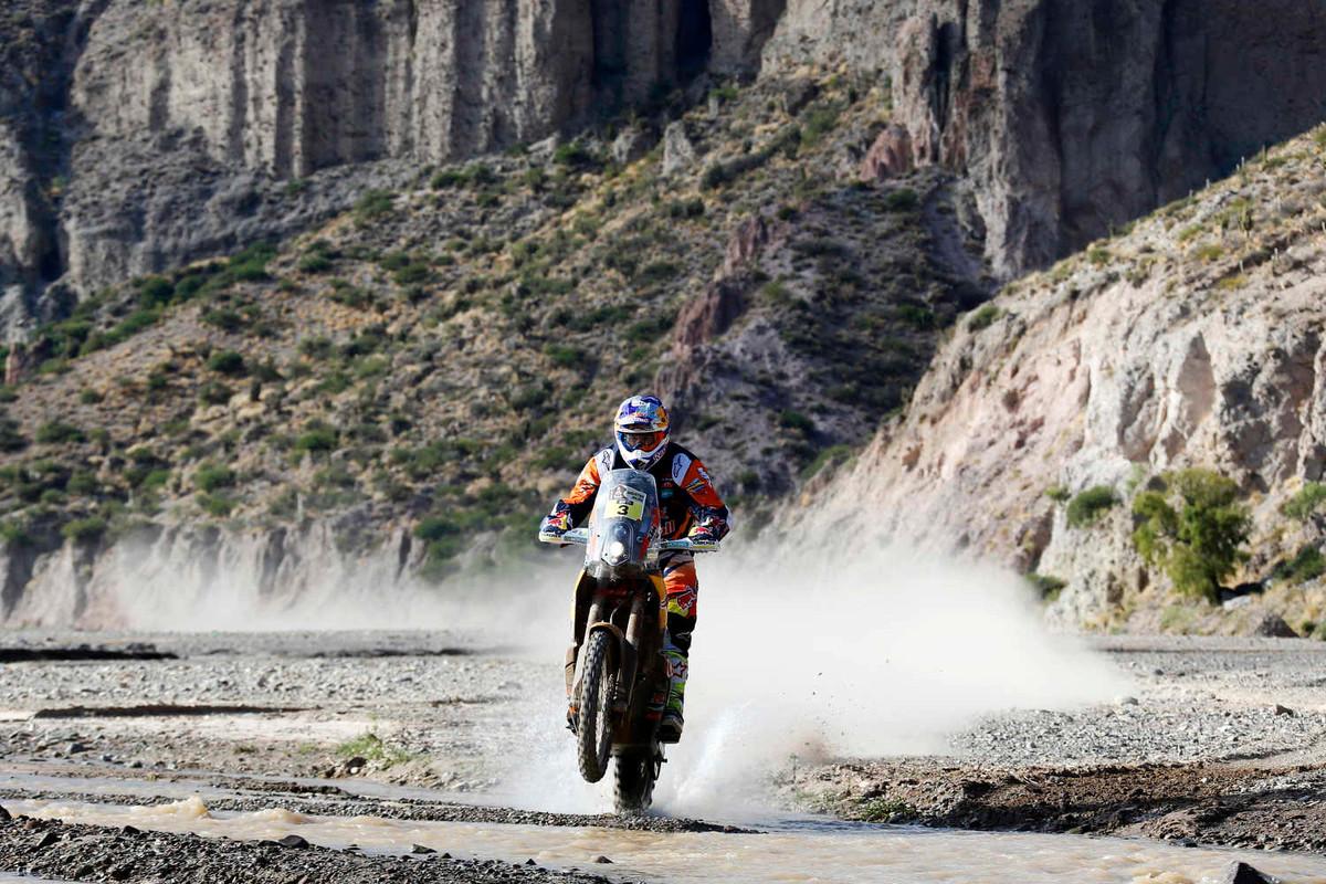 Toby Price en el Dakar 2016