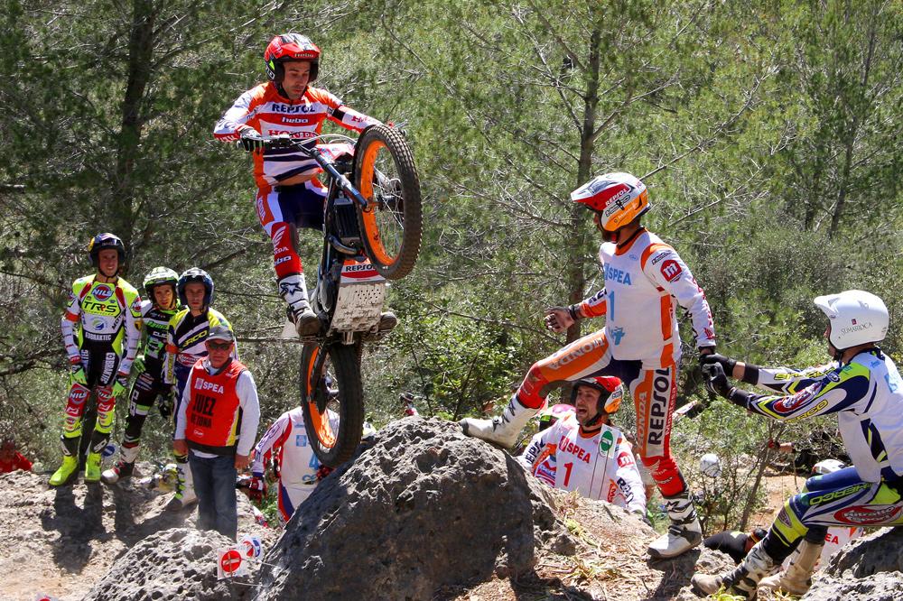 Victoria de Toni Bou en el Campeonato de España de Trial
