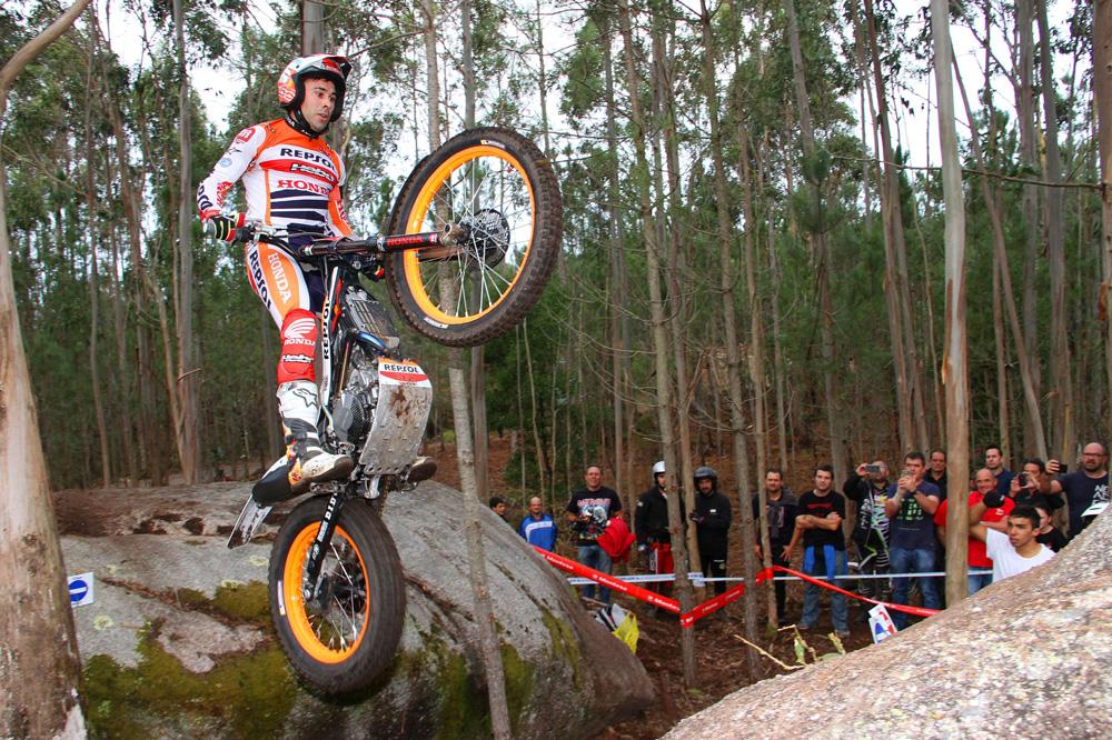 Victoria de Toni Bou en el Trial de Carnota, Campeonato de España de Trial