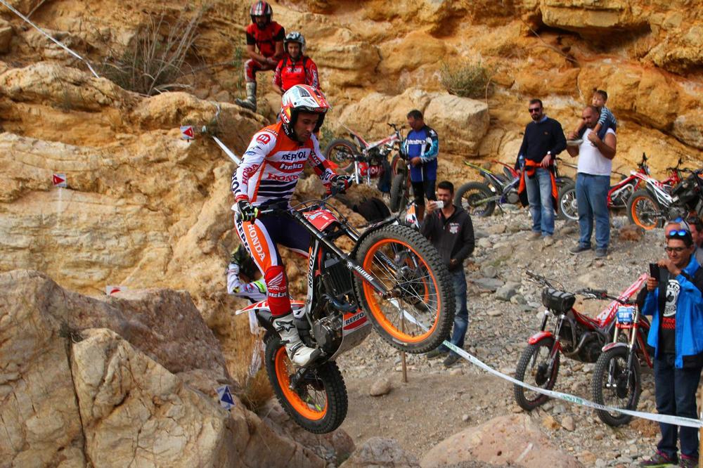 Toni Bou, victoria en el Campeonato de España de Trial en Antas Almeria