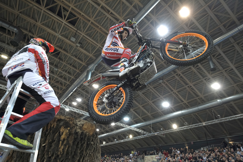 Toni Bou, Trial Indoor de Viena 2017