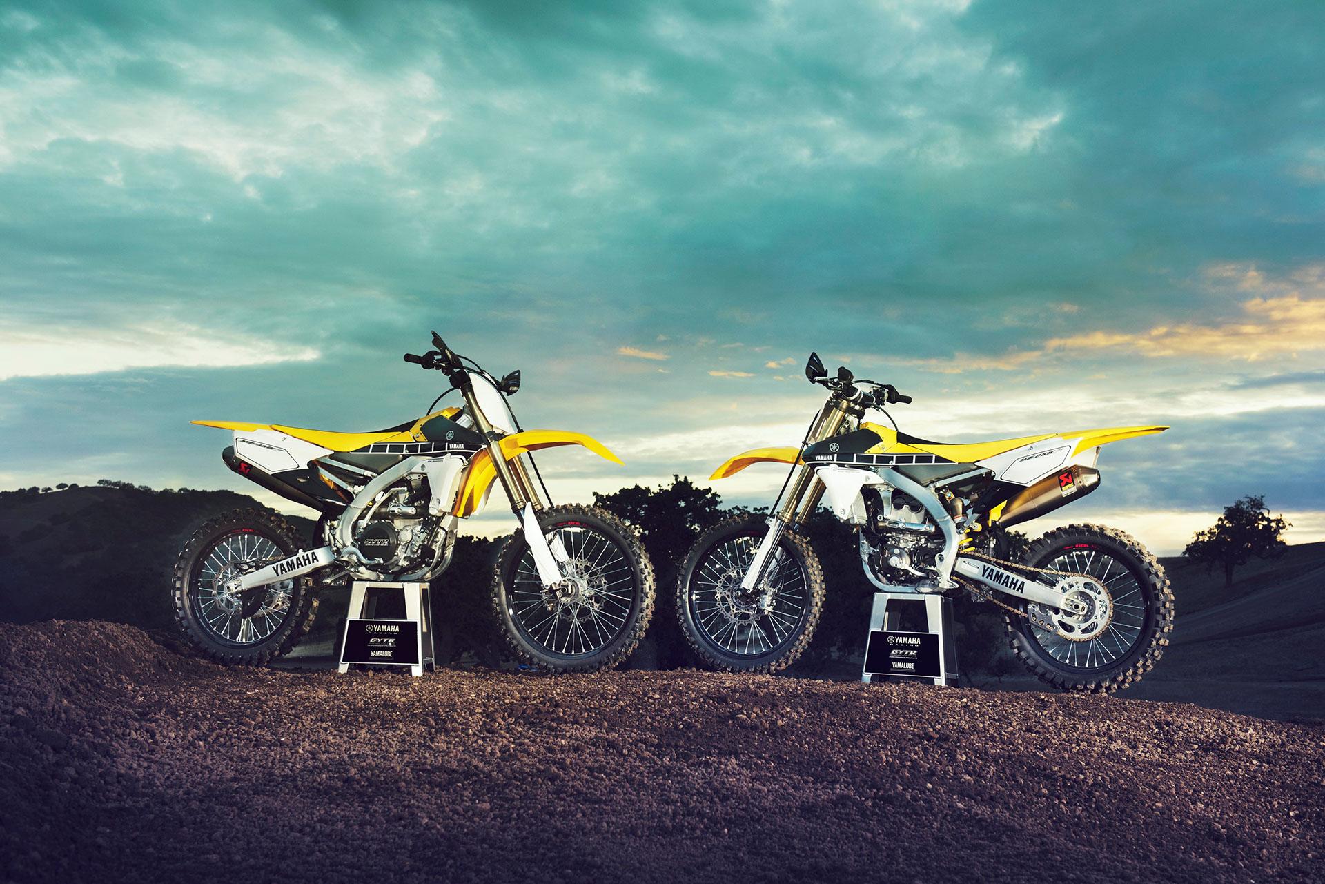Yamaha YZ450F YZ250F 2016