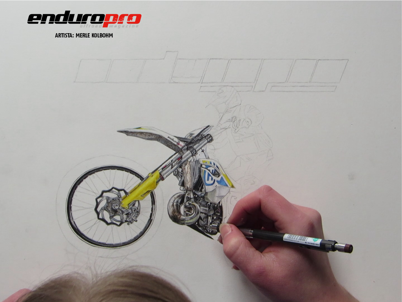 Enduropro 53 Historia de una portada  Moto1Pro