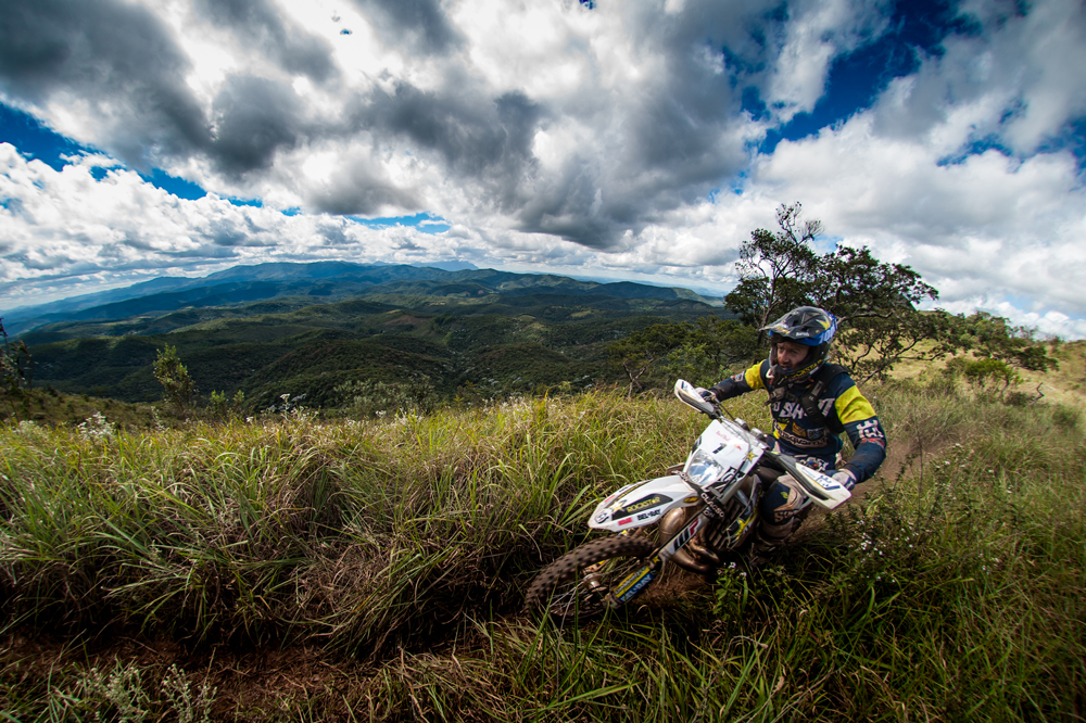 Graham Jarvis en el Red Bull Hard Enduro de Brasil