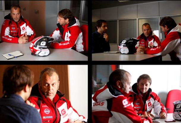 Juan López y David Martínez, Gas Gas