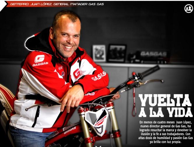 Juan López, general manager Gas Gas