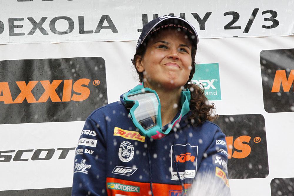 Laia Sanz es la mayor representante del motociclismo femenino de la FIM
