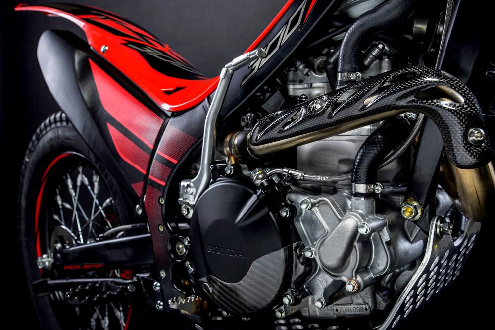 Motor de la Montesa Cota 300 RR