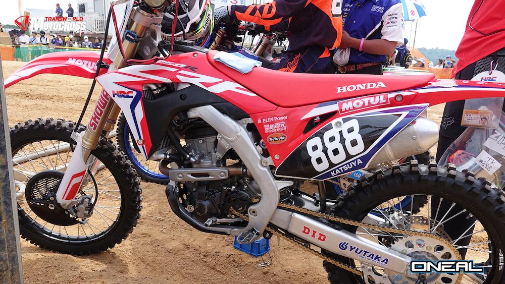 Novedades MX Honda 2018