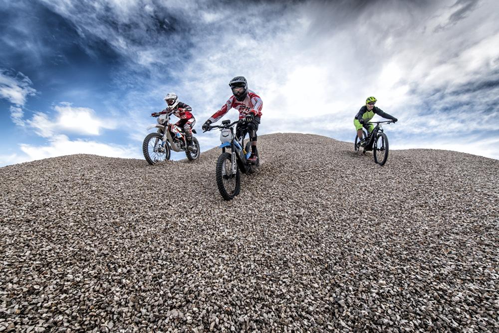 Off Road eléctrico: moto vs bici vs moto-bici