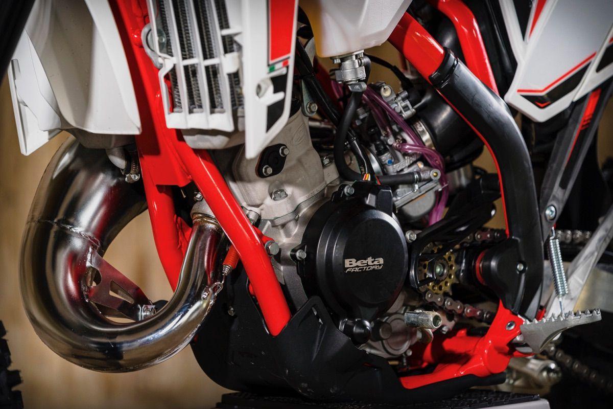 Beta Enduro 2020 2T detalle motor