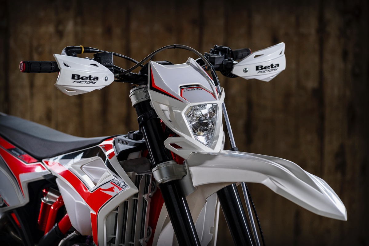 Beta Enduro 2020 2T suspensiones