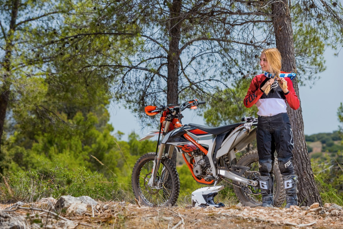 Prueba KTM Freeride