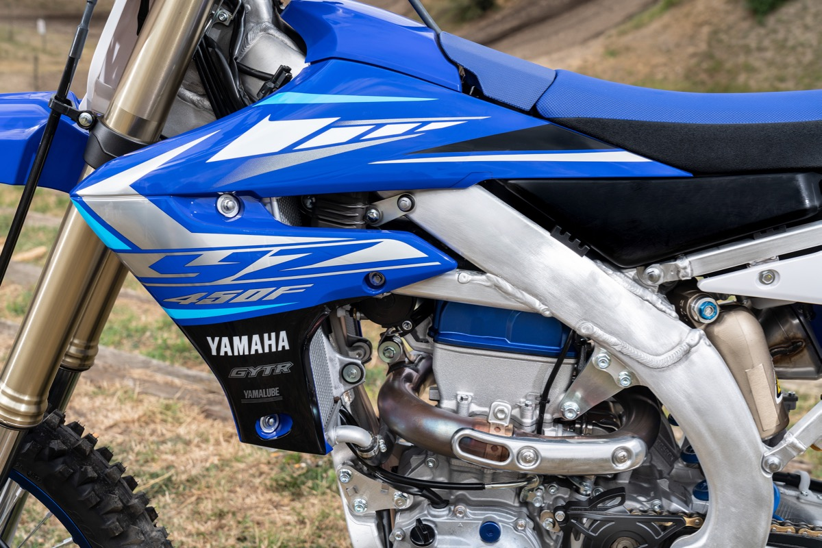 Prueba Yamaha YZF 450 2020 detalles