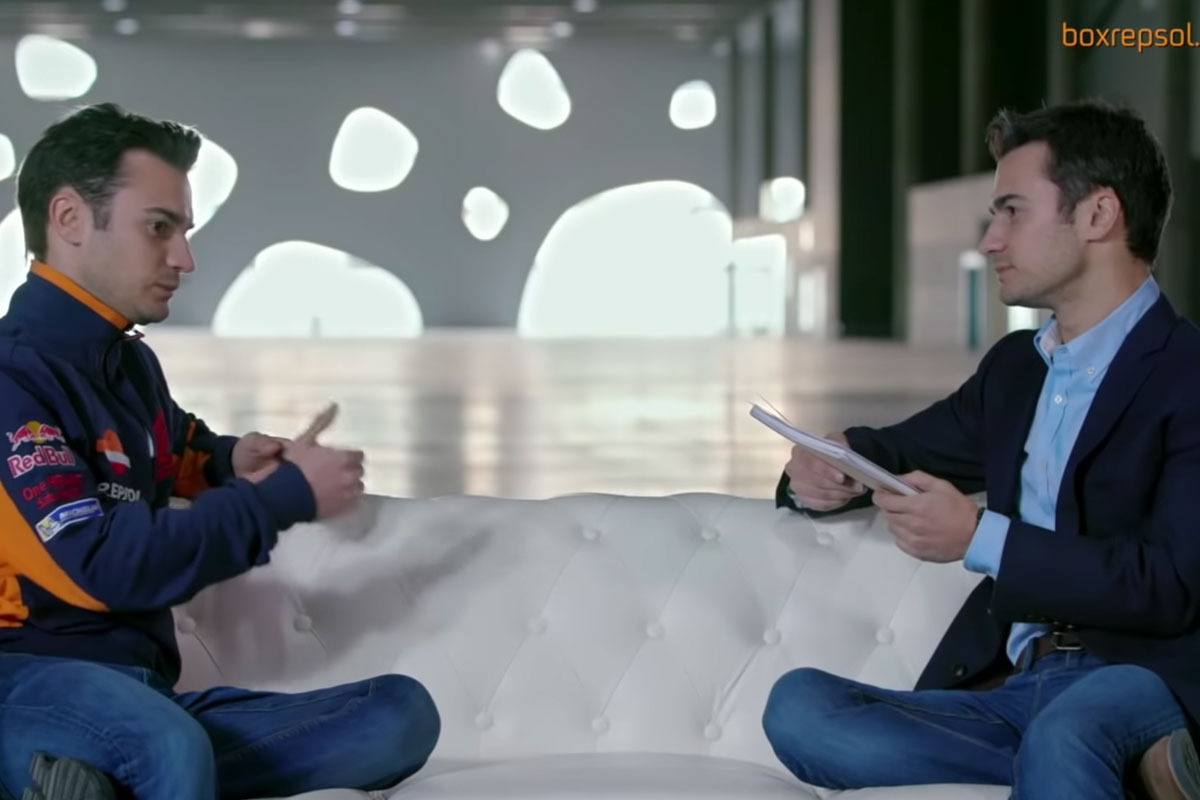Dani entrevista a Dani: el lado más personal del piloto español.