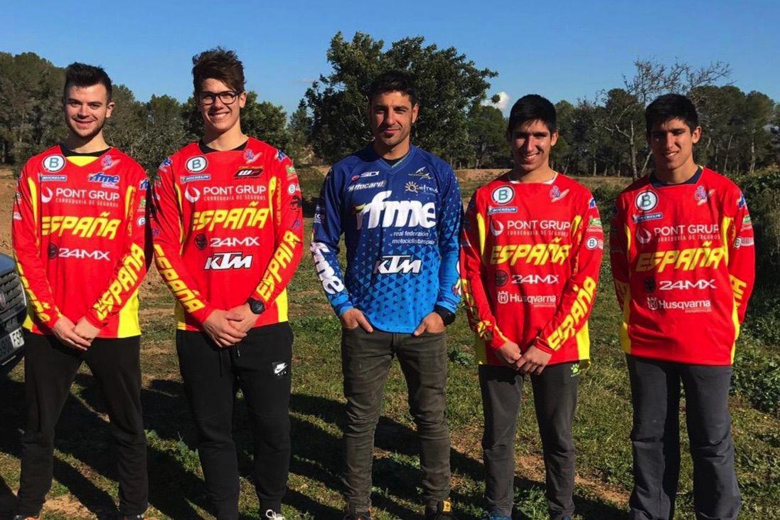 Equipo Nacional Enduro 2019