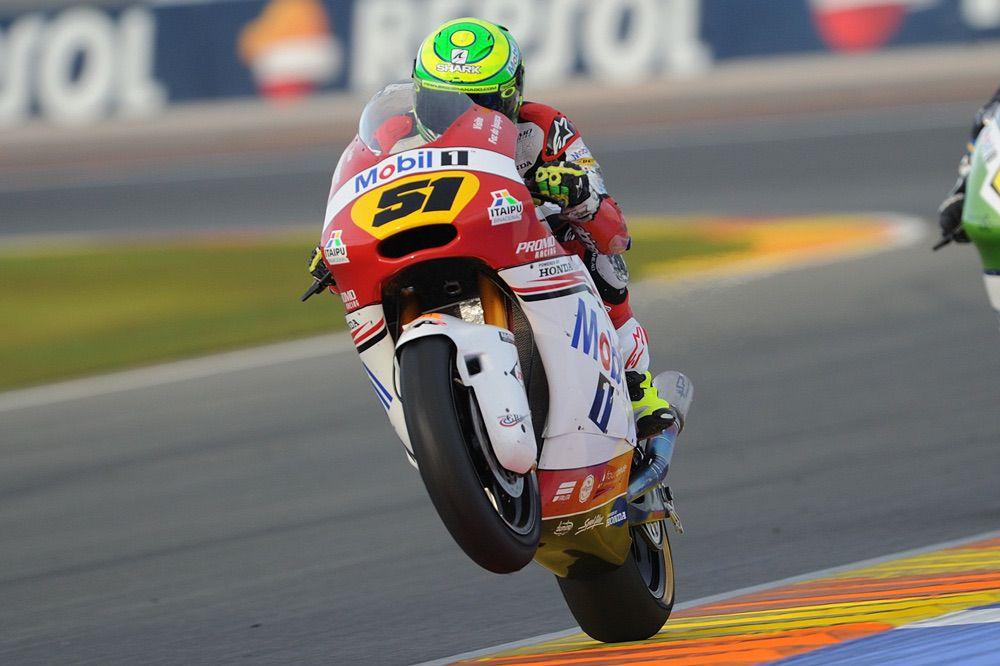 Eric Granado, segundo en la carrera Moto2 del FIM CEV Repsol de Valencia