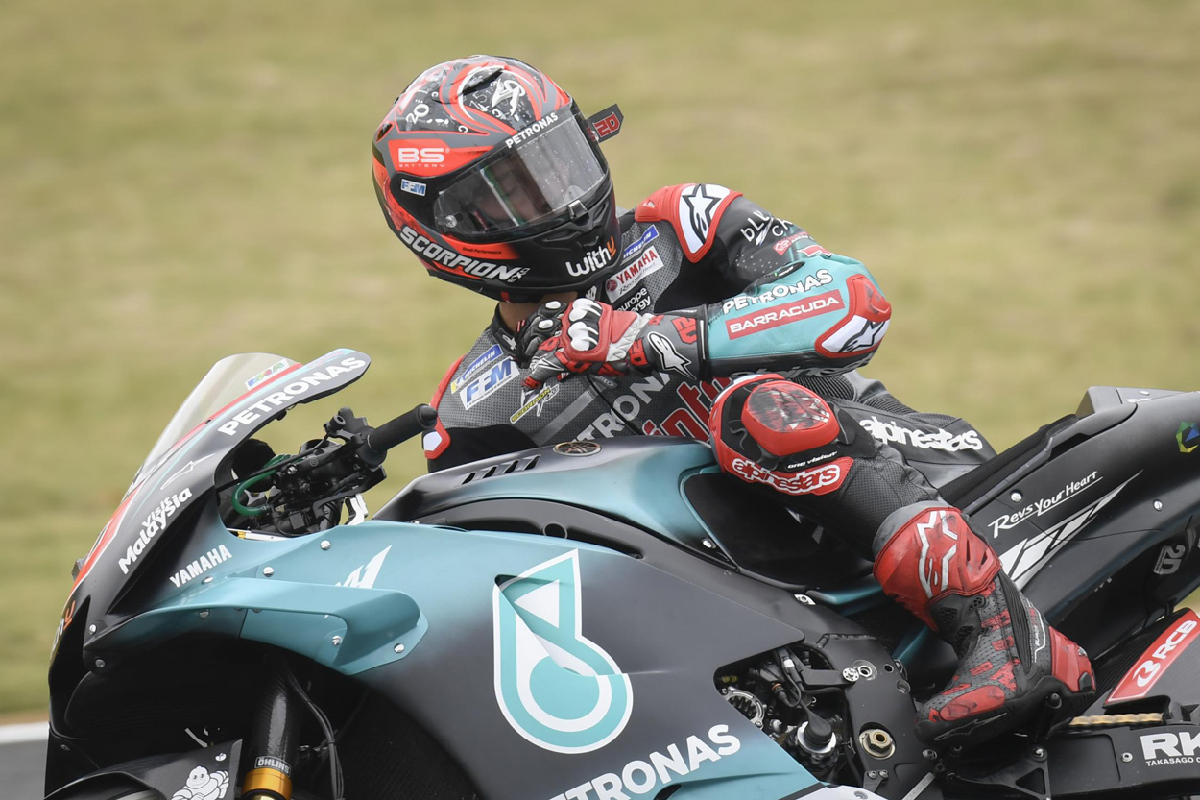 Fabio Quartararo apunta como el relevo natural dentro de Yamaha