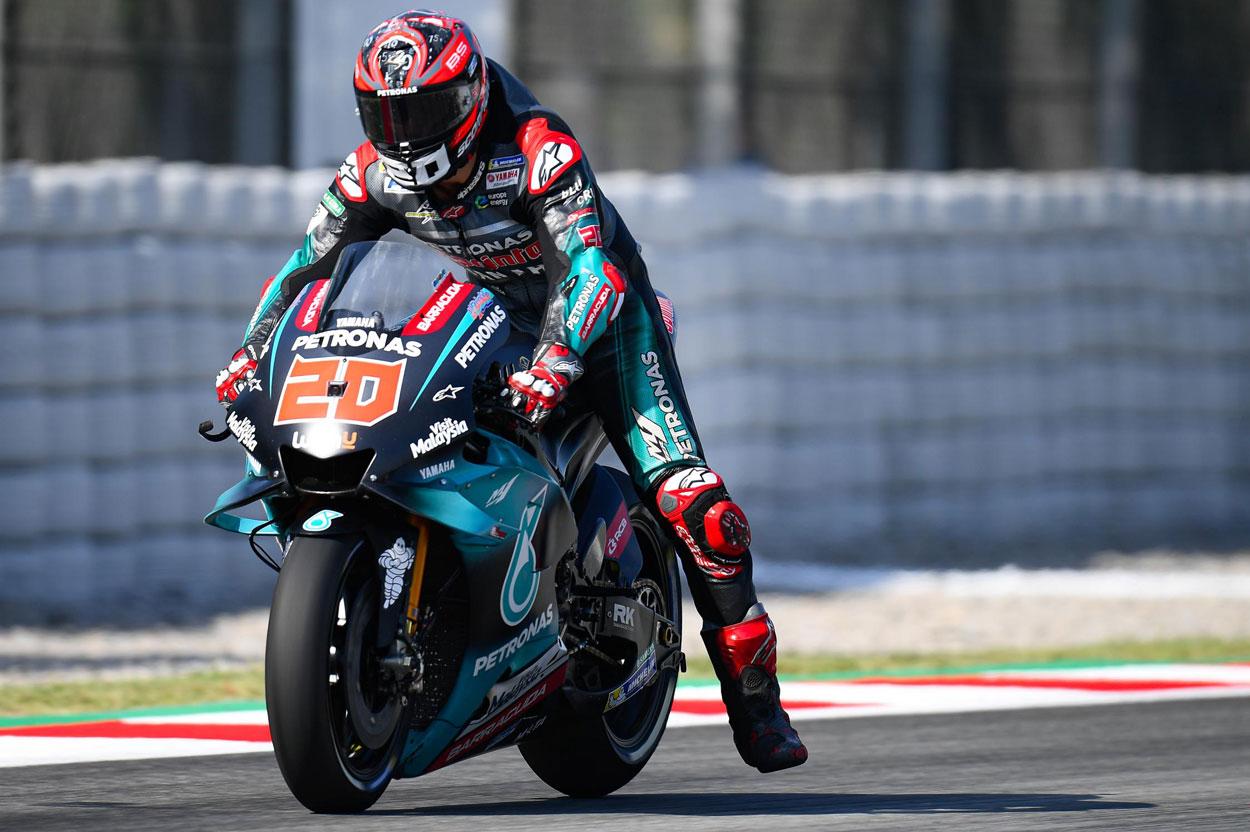 Fabio Quartararon partirá desde la pole del GP de Cataluña 2019