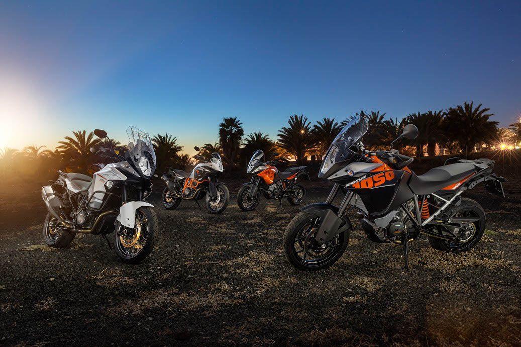 Familia KTM Adventure